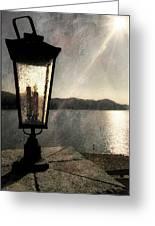 Lakeside Lantern Greeting Card