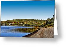 Lakeside Portage Greeting Card