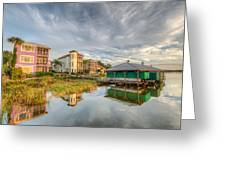 Lakeside Reflections Greeting Card