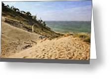 Laketown Dune Panorama Greeting Card