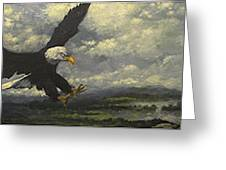 Lakeview Eagle Greeting Card
