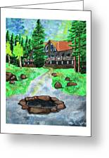 Lakewoods Lodge Greeting Card