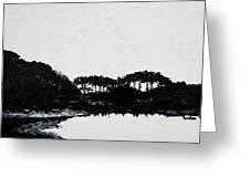 Lal Bagh Lake 3 Greeting Card