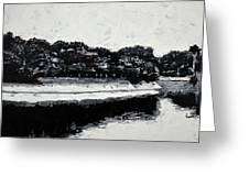 Lal Bagh Lake 4 Greeting Card