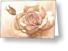 Lalique Rose Greeting Card