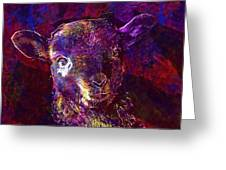 Lamb Spring Cute Animal  Greeting Card
