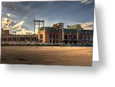 Lambeau Field Greeting Card