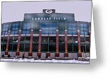 Lambeau  Greeting Card
