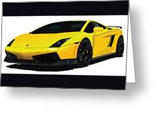 Lambo Greeting Card