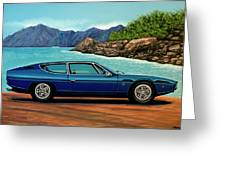 Lamborghini Espada 1968 Painting Greeting Card