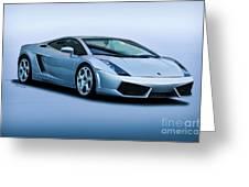 Lamborghini Gallardo 'track Terror' I Greeting Card