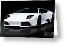 Lamborghini Murcielago Lp640 Coupe Greeting Card