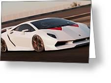 Lamborghini Sesto Elemento - 04 Greeting Card