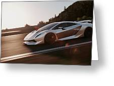 Lamborghini Sesto Elemento - 12 Greeting Card