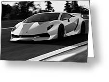 Lamborghini Sesto Elemento - 20 Greeting Card