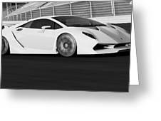 Lamborghini Sesto Elemento - 21 Greeting Card