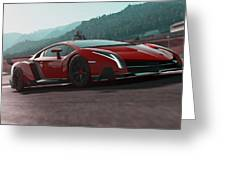 Lamborghini Veneno Greeting Card