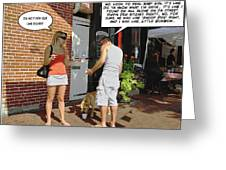 Lame Excuses Greeting Card by Brian Wallace