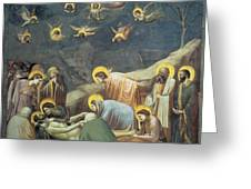 Lamentation Of Christ Greeting Card