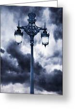 Lamp Post Greeting Card