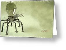 Lampbot Greeting Card