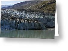 Lamplugh Glacier Greeting Card