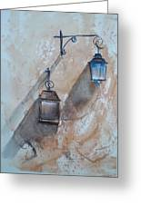 Lamps Greeting Card