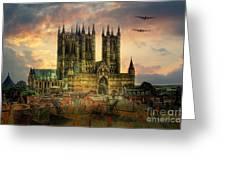 Lancaster Bombers Tour Greeting Card
