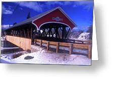 Lancaster Covered Bridge Greeting Card