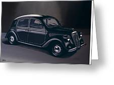 Lancia Ardea 1939 Painting Greeting Card