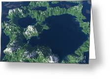 Land Of A Thousand Lakes Greeting Card
