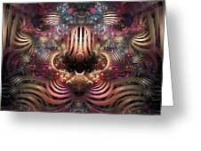 Land Of Confusion Greeting Card