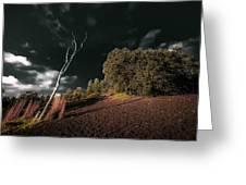 Land Of Devastation Greeting Card