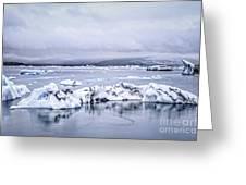 Land Of Ice Greeting Card