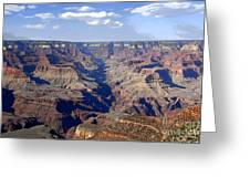 Land Of Many Canyons Greeting Card