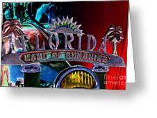 Land Of Sunshine Greeting Card