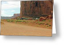 Land Of The Ancestors Greeting Card