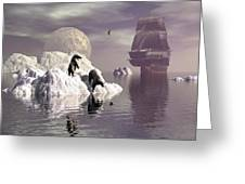 Land Of The Midnight Sun 1 Greeting Card