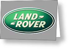 Land Rover Emblem Greeting Card