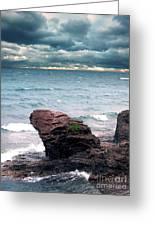 Land Water Sky Greeting Card