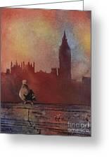 Landing Place- London Greeting Card
