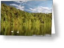 Landingville Lake Pennsylvania Greeting Card