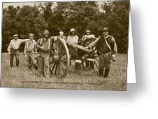 Landis Battery Missouri Brigade Greeting Card