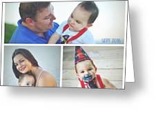 Landon Collage  Greeting Card