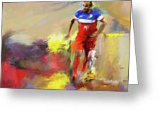 Landon Donovan 545 1 Greeting Card
