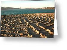 Lands End Labyrinth Greeting Card