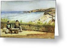 Landscape 02 Konstantin Makovsky Greeting Card