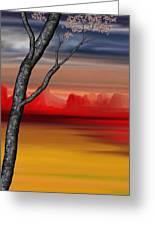 Landscape 090210 Greeting Card