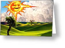 Landscape 1 Greeting Card