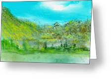 Landscape 101510 Greeting Card
